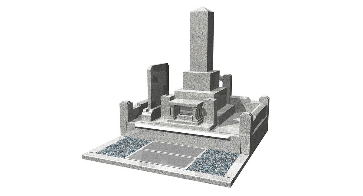 和型「尺角ト金型」+外柵「神宮」