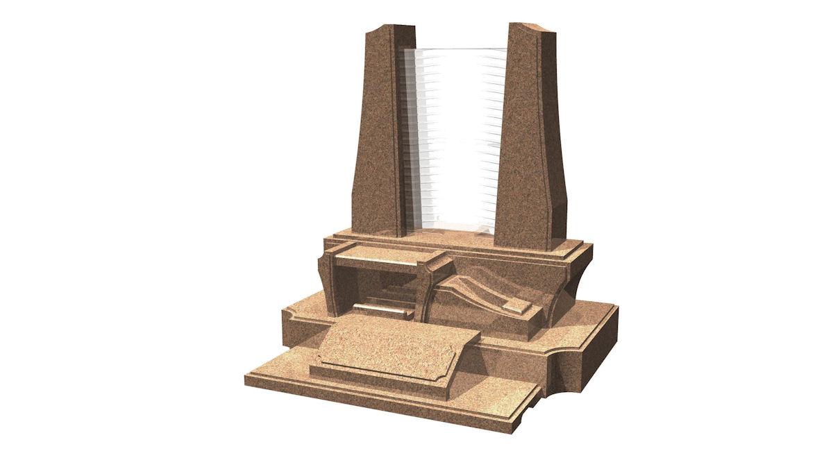 洋型「ルミエール」(ガラス墓)